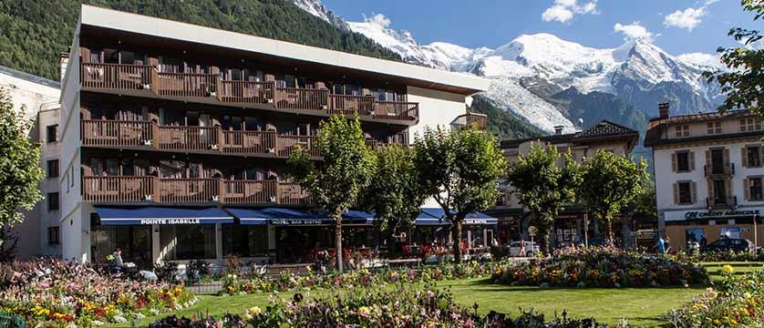 Hotel Pointe Isabelle, Chamonix, France - Exterior summer.jpg